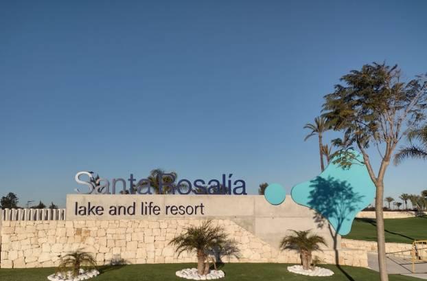 Santa Rosalia Lake & Life Resort Entrance