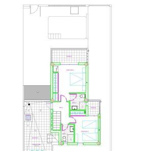 Vela Latina First floor - 4 bedrooms